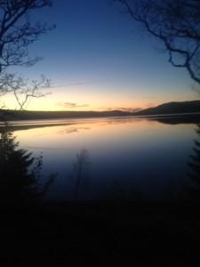 Solnedgang Selbusjøen